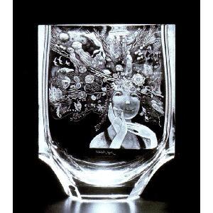 モーゼル クリスタル 花瓶「ルトルマーメイド」 1個 結婚祝 創立記念日 開店祝 新築記念祝 退職祝等 贈答用 プレゼントに適 LMD−2735