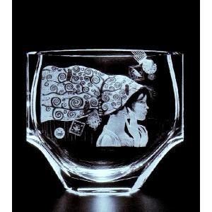 モーゼル クリスタル 花瓶「ルミネッセンス」 1個 結婚祝 創立記念日 開店祝 新築記念祝 退職祝等 贈答用 プレゼントに適 REM−2733