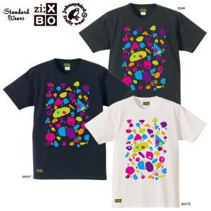 Johnny Bird×STANDARD WEARS×Zi;BOX CLIMBING HOLD T-SHIRTSクライミングホールドTシャツ