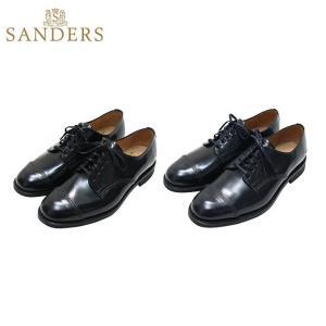 サンダーズ ミリタリーダービーシュー Sanders Military Derby Shoe 2co...