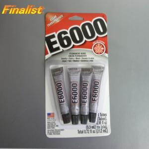 E6000 0.18oz(5.3ml)X4 Total0.72oz(21.2ml)アクセサリー ボンド スワロフスキー用接着剤