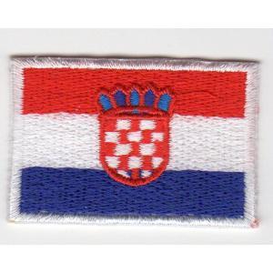 国旗ワッペン(クロアチア)