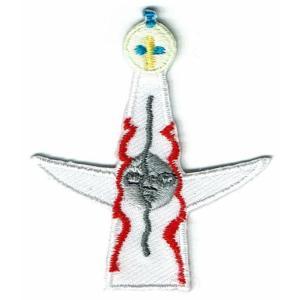 刺繍ワッペン(太陽の塔)
