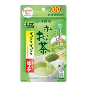 伊藤園 お〜いお茶 抹茶入りさらさら緑茶 80g入 粉末 お茶 緑茶 りょくちゃ 通販