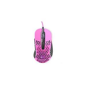 Xtrfy(エクストリファイ) M4 RGB 右手用 エルゴノミック ゲーミングマウス (ピンク)