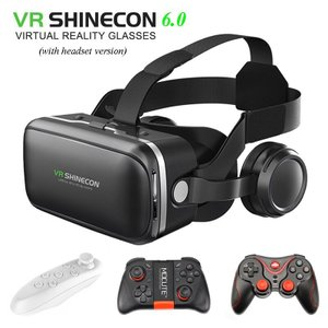 100%オリジナル VR SHINECON 6.0VRゴーグル 120 fv 3Dメガネ ヘッドセッ...