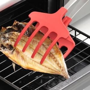 グリルでの焼き魚、お鍋やフライパンでの崩れやすい煮魚をしっかりとキャッチする、UCHICOOK (ウ...