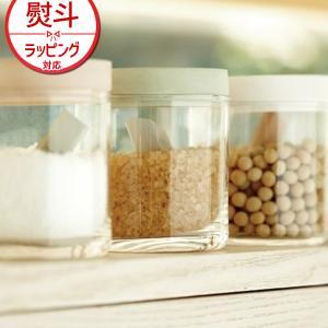 soil (ソイル) フードコンテナ ガラス K117 珪藻土 保存容器 日本製 調味料 食材 日本...