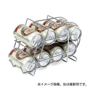 古い缶から順番に取り出せる便利なストッカー。 350ml缶を8〜1-本収納できます。 コンパクトサイ...
