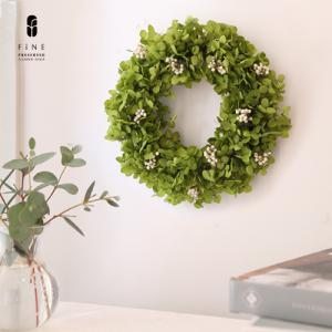 プリザーブドフラワー ギフト プレゼント アナベルリース・ミニ 開店開業 誕生日 お祝い 結婚祝い 新築祝い オータムギフト 開店祝い 開業祝い 送料無料|fine-flower