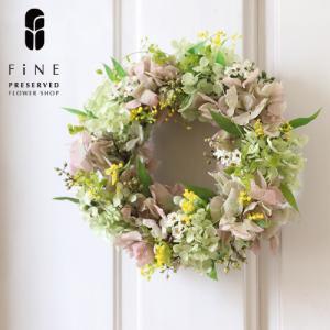 プリザーブドフラワー ギフト プレゼント シャルロット ミニリース リース プレゼント 誕生日 お祝い 結婚祝い 新築祝い 開店祝い 開業祝い 送料無料|fine-flower