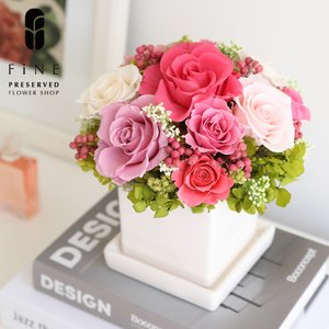 プリザーブドフラワーギフト/プリンセス 送料無料/15時までのご注文であすつく|fine-flower