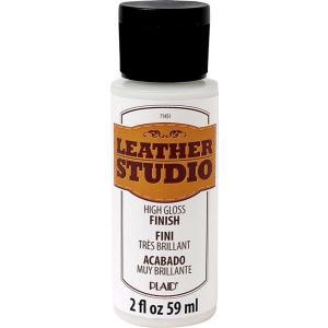 皮用絵具のツヤあり仕上げ剤  レザースタジオ グロス フィニッシュ 107-1451|fine-home