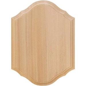 無塗装白木素材 洋板 ファンシー六角形 広縁 大 500-0412