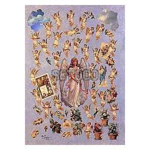 ラッピングペーパー Angels and Cherubs605-0014 fine-home