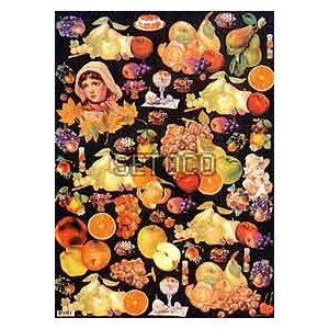 ラッピングペーパー Fruit605-0034 fine-home