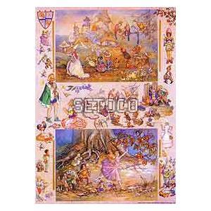 ラッピングペーパー Medieval Fairies605-0104 fine-home
