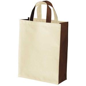 布製品 PカジュアルバックMナチュラル&ブラウン623-0023|fine-home