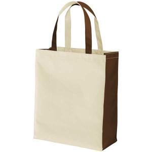 布製品 PカジュアルバックLナチュラル&ブラウン623-0033|fine-home