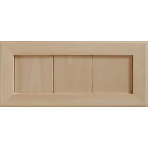 無塗装白木素材 cw-1300 タイル風額10角×3枚 fine-home
