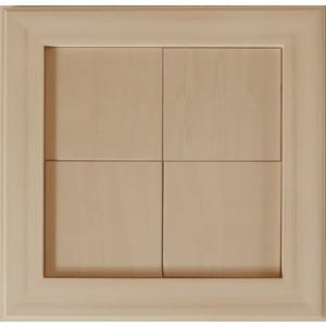 無塗装白木素材 cw-1301 タイル風額10角×4枚 fine-home