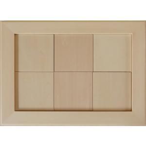 無塗装白木素材 cw-1302 タイル風額10角×6枚 fine-home