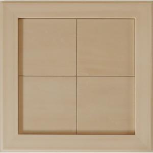 無塗装白木素材 cw-1306 タイル風額12角×4枚 fine-home
