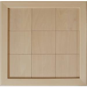 無塗装白木素材 cw-1308 タイル風額12角×9枚 fine-home