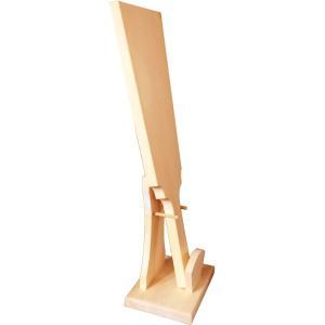 トールペイント用無塗装白木素材 羽子板セット(台付)cw-262|fine-home