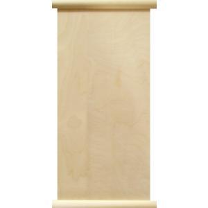 無塗装白木素材 タペストリー(掛け軸風)約220×430 cw-761|fine-home