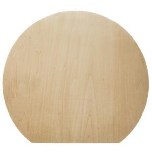 無塗装白木素材 cw-789 満月型ランチョンマット|fine-home