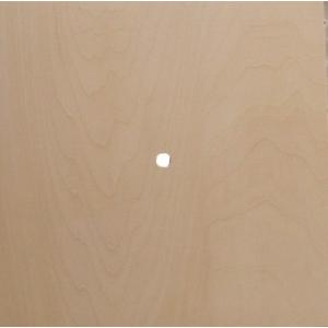 無塗装白木素材 cw-810 四角時計用プラーク小225×225|fine-home