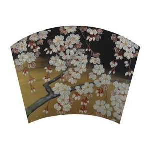 トールペイント ご自分で描く 図案付白木素材 cwk-100  ティーマット 桜