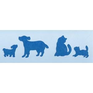 ファインホームのステンシルシート 猫と犬Sサイズ fh-001s|fine-home