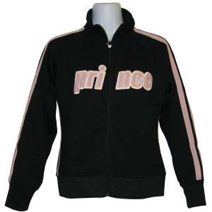 テニスウエア レディース ジャケット / prince プリンス ロゴ刺繍 ジャケット (Sサイズ)|fine23
