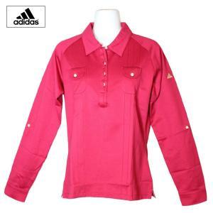 ゴルフウェア レディース / adidas Individual  長袖シャツ JO265 (Lサイズ) 現品限り|fine23