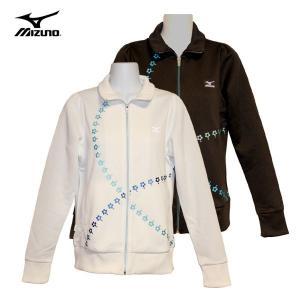 ジャージ レディース / mizuno レディースジャージ デザインジャケット 全2色 50SB (M〜Lサイズ) fine23