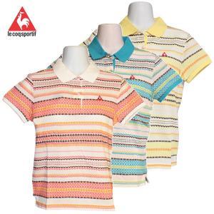 ゴルフウェア レディース / le coq sportif ルコック スポルティフ 半袖シャツ 全3色 (S〜Mサイズ)|fine23