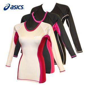 レディース / asics W'S肩バランスUネックLSシャツ 全3色 (S〜LLサイズ) fine23