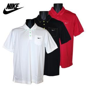ゴルフウェア メンズ / NIKE 半袖ポロシャツ 599136 全3色 (M〜XLサイズ)|fine23