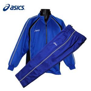 メンズ 上下セット / asics アシックス メンズ トレーニングジャージ 上下セット ブルー (OWT105/OWT205) (M〜LLサイズ)|fine23