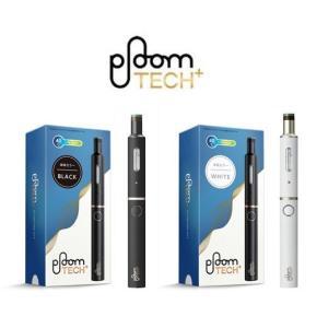【新品/正規品】Ploom TECH+ (プルーム・テック・プラス・スターターキット)BLACK・W...