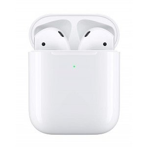 W【あすつく】【最新モデル/第2世代/2019年モデル】【ワイヤレス充電可】Apple AirPods with Wireless Charging Case【新品/正規品】【MRXJ2J/A】アップル純正|finebookpremiere|02