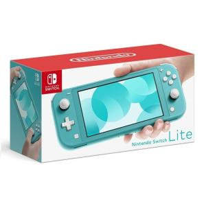 LT★【あすつく】 Nintendo Switch Lite ターコイズ 任天堂【小さく、軽く、持ち...