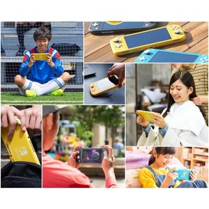 LY★Nintendo Switch Lite イエロー 任天堂【小さく、軽く、持ち運びやすい。携帯専用のNintendo Switch】HDH-S-YAZAA  4902370542936|finebookpremiere|05