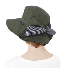 送料無料 ウィズガーデン プレミアムシリーズ ガーデニング用帽子 グリーン finegarden 02