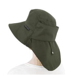 送料無料 ウィズガーデン プレミアムシリーズ ガーデニング用帽子 グリーン finegarden 03