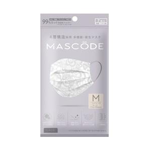 「サンスマイル」 マスコード M レースグレー 7枚入 「衛生用品」の商品画像|ナビ