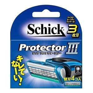「シック」 プロテクタースリー 替刃4個入 「化粧品」