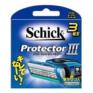 「シック」 プロテクタースリー 替刃8個入 「化粧品」